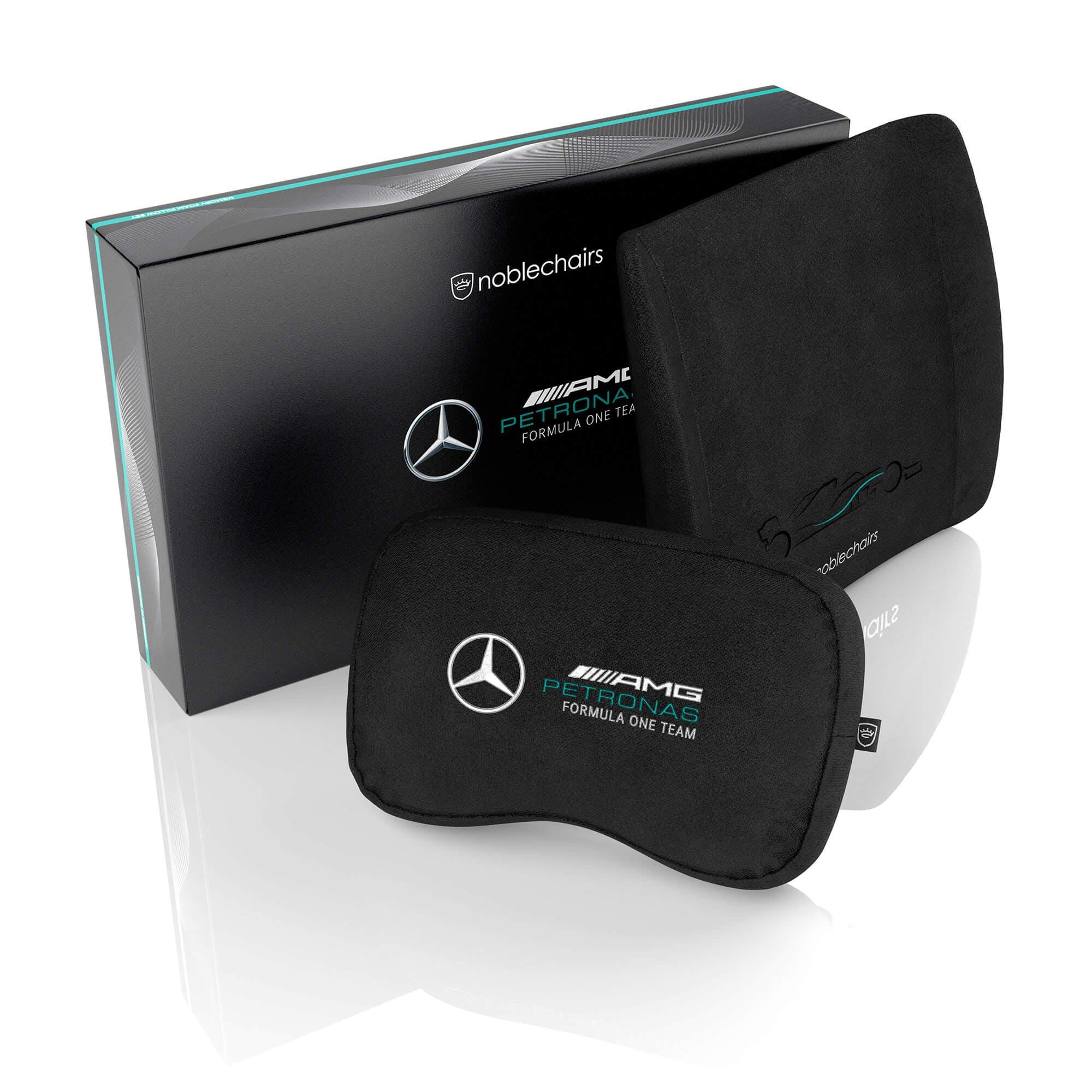 Noblechairs - Mercedes-AMG Petronas F1 Team Memory-Foam Kissen-Set