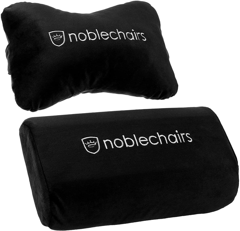 Noblechairs - Kissen-Set Schwarz/Weiß