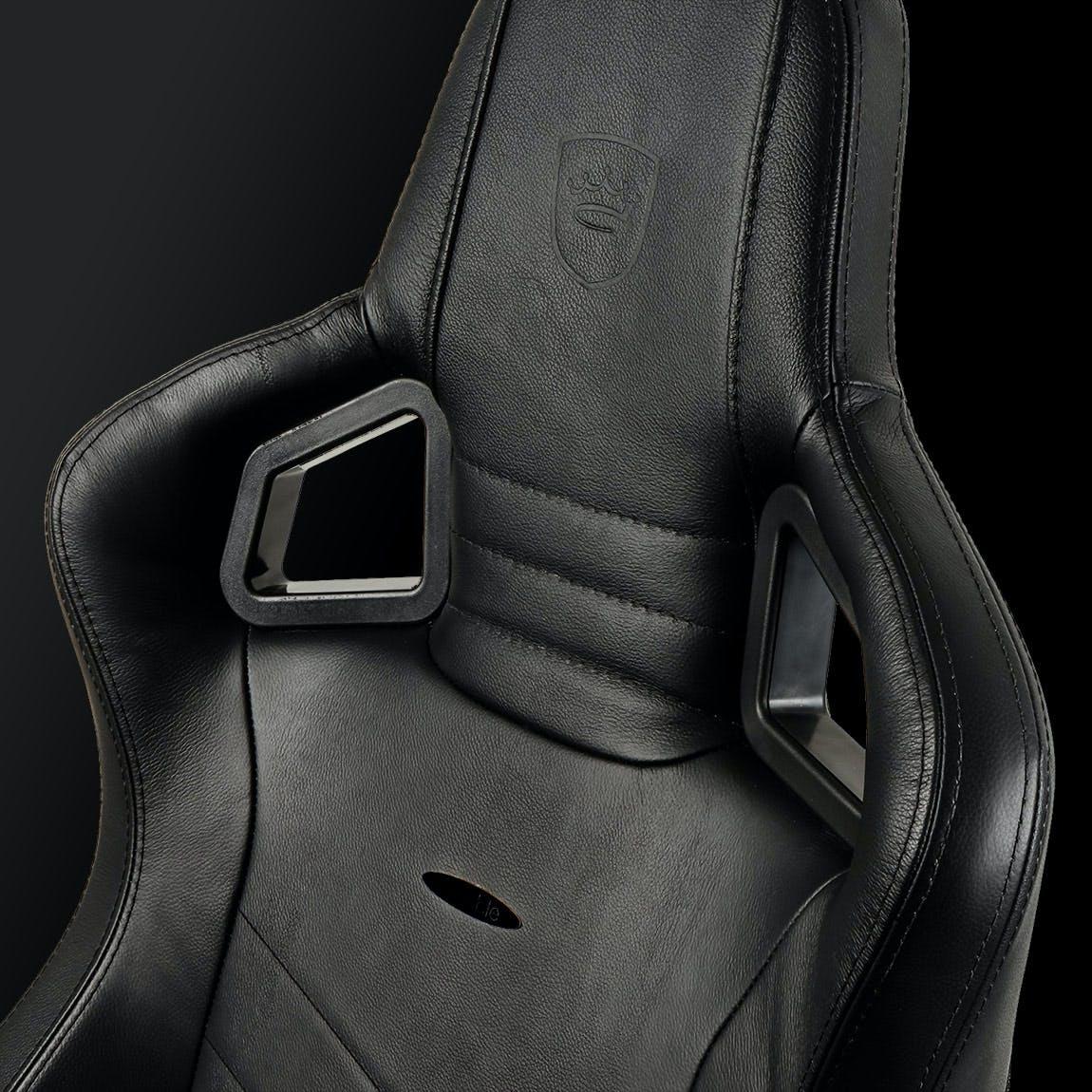 EPIC Real Leather Black / Black