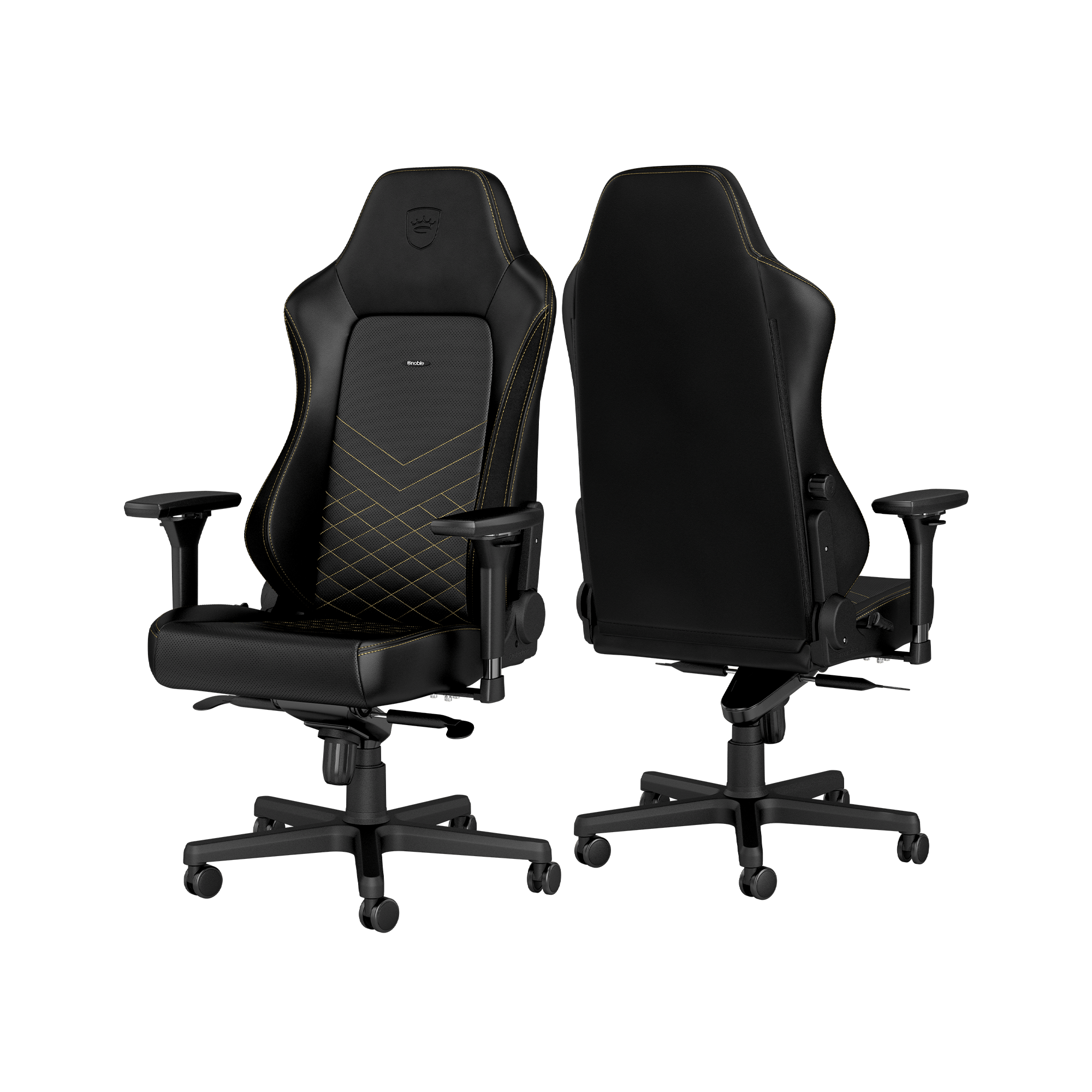 Noblechairs - HERO Schwarz / Gold