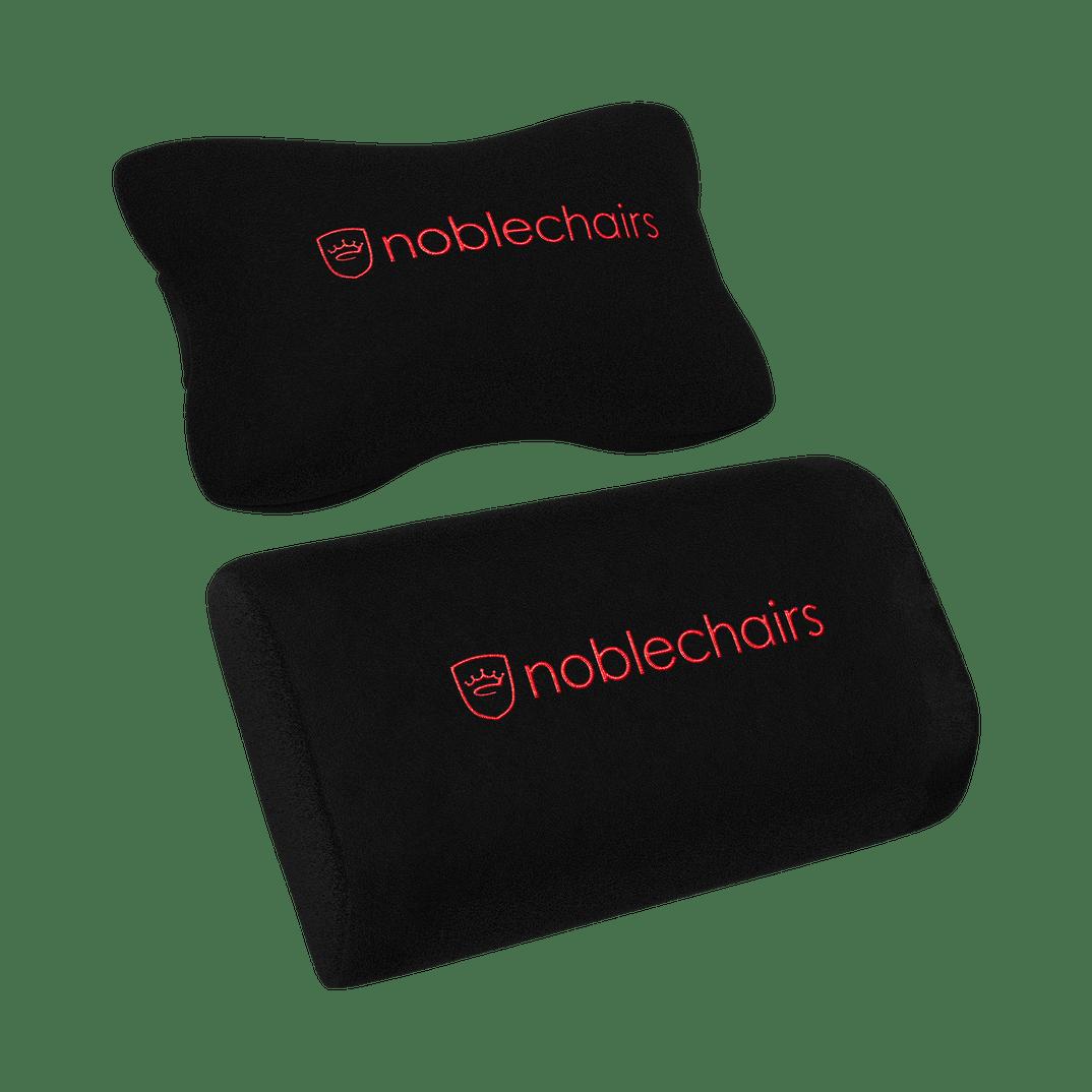 Noblechairs - HERO Echtleder Schwarz / Rot