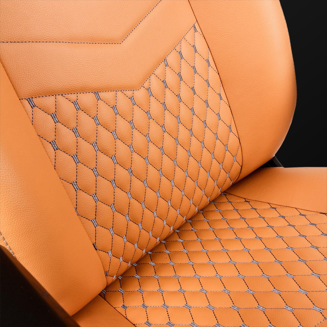 ICON Real Leather Cognac / Black
