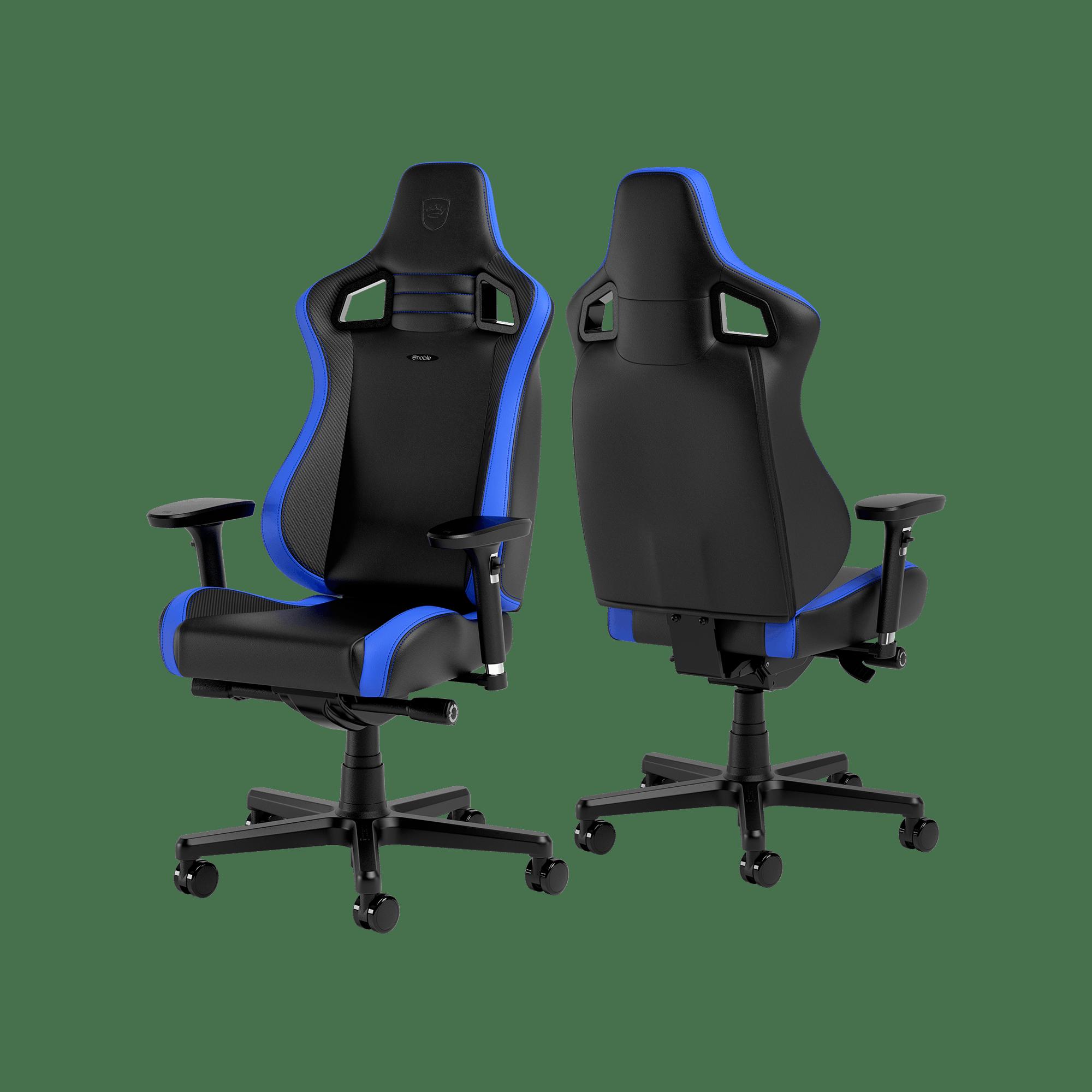 Noblechairs - EPIC Compact Black/Carbon/Blue