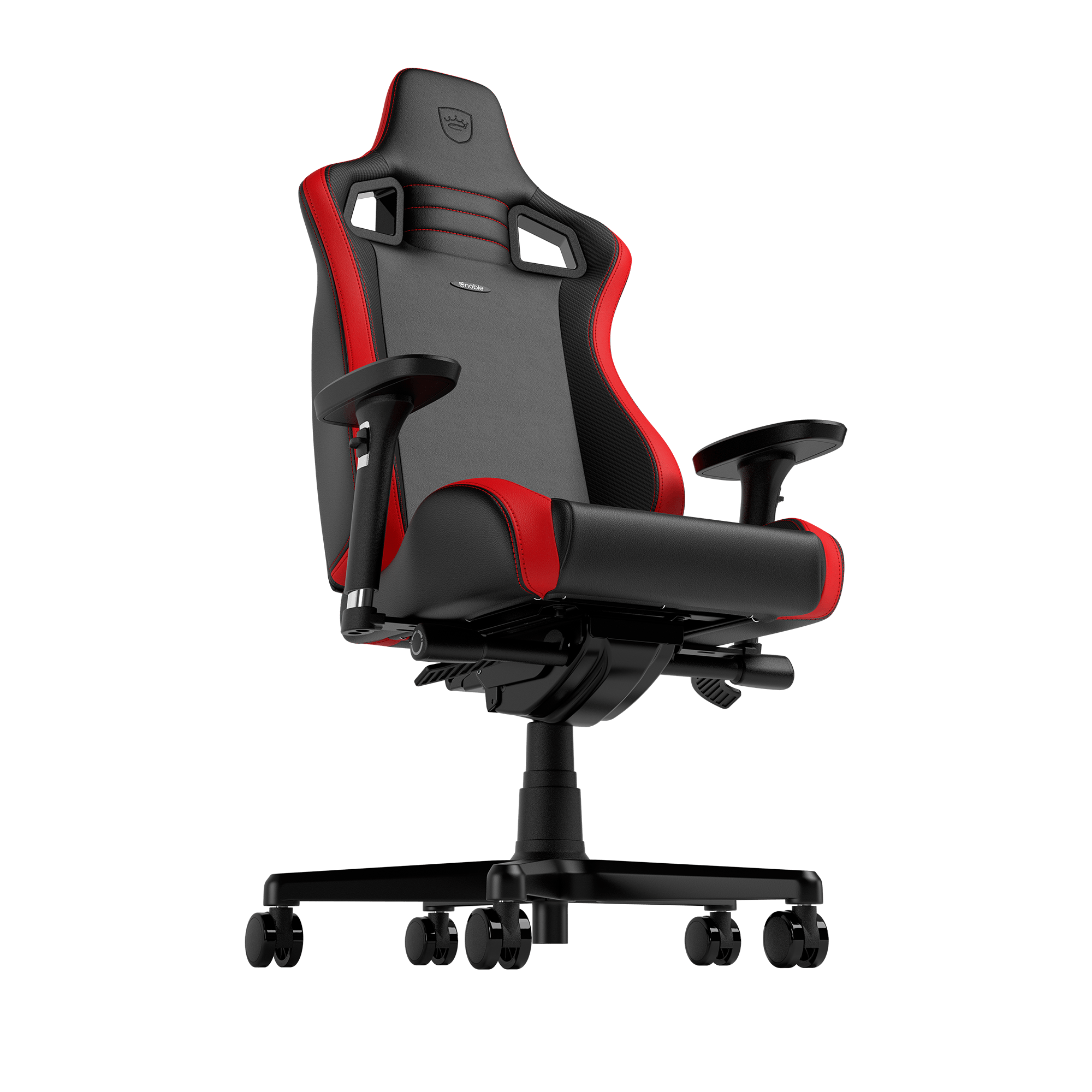 Noblechairs - EPIC Compact  Schwarz/Carbon/Rot